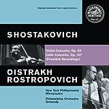 Shostakovich: Cello Concerto No1, Op107; Violin Concerto No1 (revised), Op99