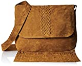 Famous By Payal Kapoor Women's Sling Bag (Brown) (PKB80)