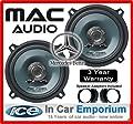 Mercedes C-Class Hecktür Lautsprecher Mac Audio 13,3cm 13cm Auto-Lautsprecher 180W