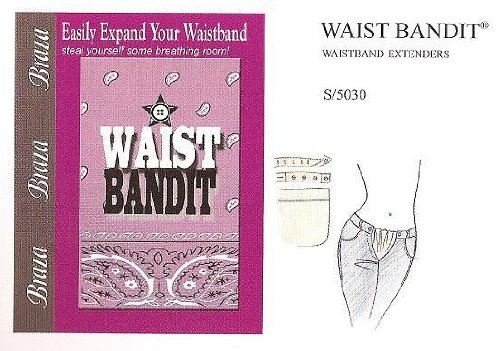 Braza Waist Bandit Band Extenders for Weight Gain/Maternity Pants & Skirts