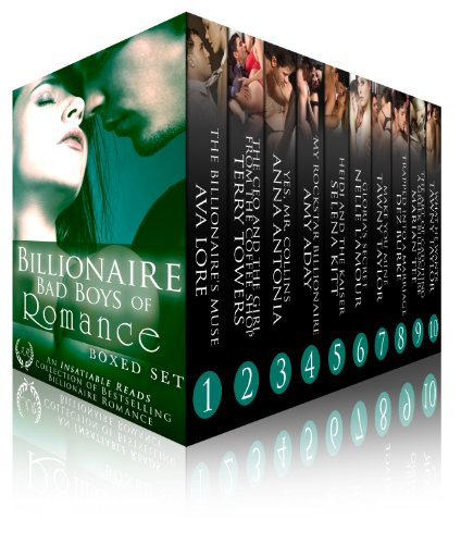 """""""10 great books for 99 cents? You can't beat this bundle!"""" Billionaire Bad Boys of Romance Boxed Set by The Hottest Authors Writing Romance Today! Don't Miss This Deal!"""