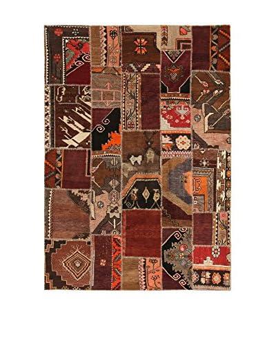 Design Community By Loomier Alfombra Ozbeki Ziegler A Marrón/Multicolor 290 x 205 cm