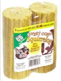 C & S Products Sweet Corn Squirrelog, 2 Unit Pack, 6-Piece
