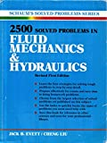img - for 2500 Solved Problems in Fluid Mechanics and Hydraulics (Schaum's Solved Problems) book / textbook / text book