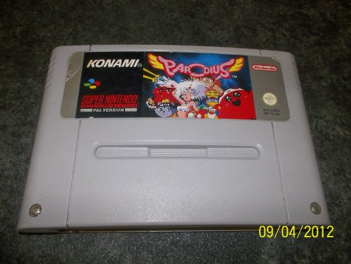 PARODIUS SUPER NINTENDO PAL VERSION