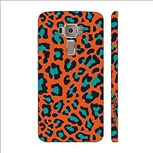 Enthopia Designer Hardshell Case Cheetah Print Back Cover for Asus Zenfone 3 ZE520KL