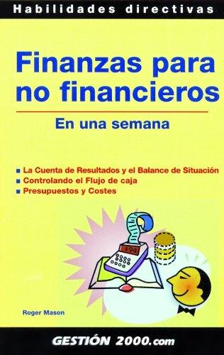 FINANZAS PARA NO FINANCIEROS EN UNA SEMANA