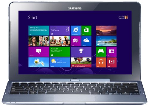 Samsung XE500 11.6-inch Touchscreen Convertible Laptop (Silver) - (Intel Atom Z2760 1.5GHz Processor, 2GB RAM, 64GB eMMC, WLAN, BT, Integrated Graphics, Windows 8)