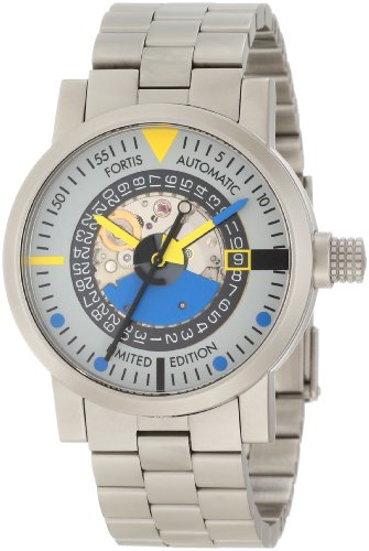 Fortis Men's 623.22.15 M Automatic Art Edition Mattern Watch
