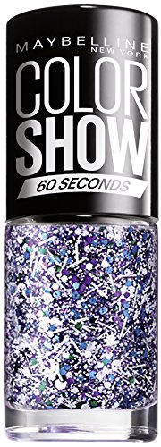 Maybelline New York - Smalto Colorshow Top Coat, n° 02 Street Art White Splatter, 1 pz. (1 x 7 ml)