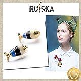 Lukso :price trendy Fresh cute small fish stud earring for women EA0718-3