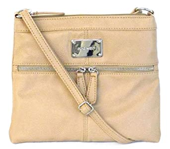 Nine West Encino Mini Crossbody (Light Tan)
