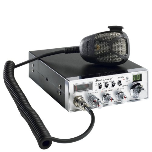 Midland 40 Channel Cb Radio With Antenna Kit