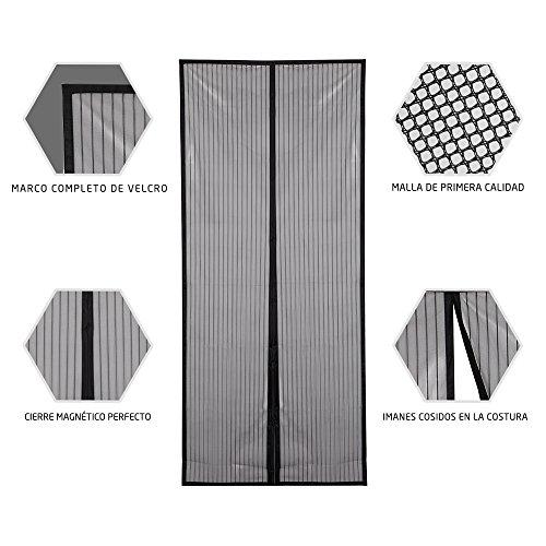 Jerrybox Mosquitera Magnética para Puertas Entradas / Patios | 91cm x 211 cm (36