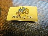 vintage lapel pin, Spirit of '76, on original card