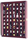 59-Opening Thimble Small Miniature Display Case Cabinet Rack Holder