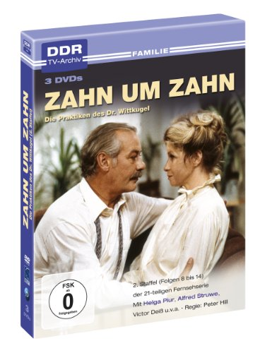 Zahn um Zahn 2. Staffel - DDR TV-Archiv ( 3 DVD's )