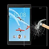 TDA Glass Screen Protector For Lenovo Tab 4 8 (2017 Released) Premium 9H Hardness HD Tempered Glass Film for Lenovo TAB4 8 8 inches Tablet TB-8504F, TB-8504X [Crystal Clear] [Bubble Free]
