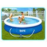 12 Foot Fast-Set Family Pool  with Filter and Pool Coverby Bestway