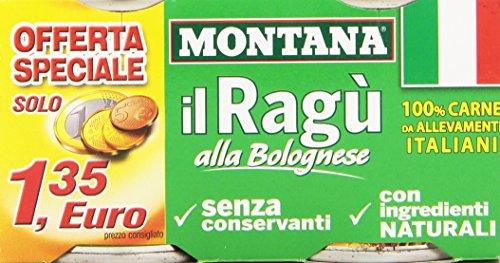Montana - Carne, Da Allevamenti Italiani - 200 g (Confezione da 2)