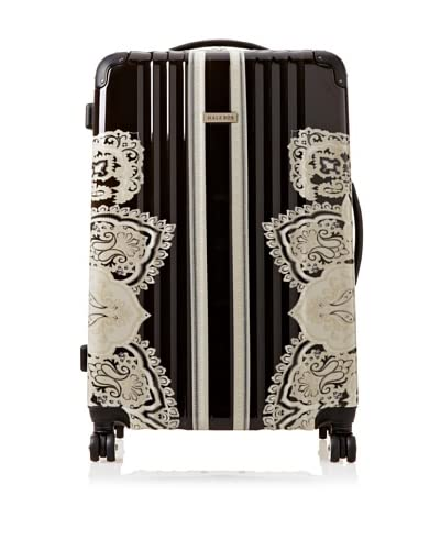 Hale Bob Women's 28″ Spinner Suitcase  [Black]