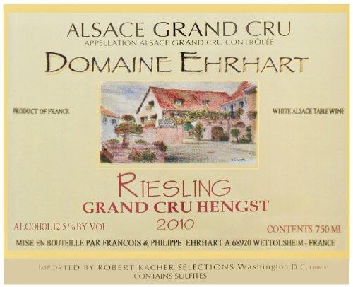 2010 Ehrhart Riesling, Hengst Grand Cru 750 Ml