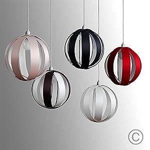 MiniSun - Modern Fabric Cocoon Globe Style Ceiling Pendant Light Shade by MiniSun