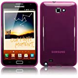 Samsung Galaxy Note TPU Gel Skin / Case / Cover - Purple PART OF THE QUBITS ACCESSORIES RANGEby TERRAPIN