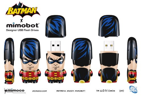 32GB Mimobot Robin Wave 1 USB Flash Drive