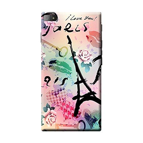 Garmor Paris Design Plastic Back Cover For Blackberry Z3