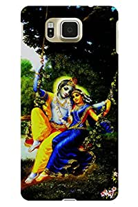IndiaRangDe Case For Samsung Galaxy Alpha G850 (Printed Back Cover)