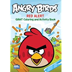 Angry Birds Giant Coloring and Activity 1 assorted coloring Book 96 Pages Paperback