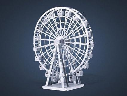 Wheel 3d Model Cut Model Ferris Wheel