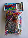 Official Rainbow Loom 600 Ct. Rubber Band Refill Pack JELLY MULTI COLOR MIX [Includes C-Clips!]