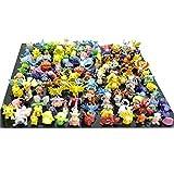 RioRand Pokemon Action Figures, 144-Piece, 2-3 cm
