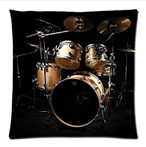 personalized cool rock drum set classic drum kit musical instrument pattern soft. Black Bedroom Furniture Sets. Home Design Ideas
