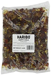 Haribo Gummi Candy, Happy-Cola, 5-Pound Bag