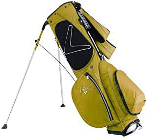 Callaway Golf Hyper-Lite 3.0 Stand Bag, Hyper Green