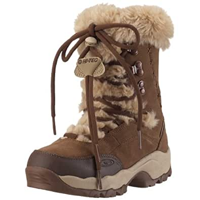 Hi Tec St. Moritz 200 W, Damen Stiefel, beige, (Brown/Cream), 37 EU/4 UK/6 US