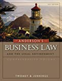Anderson's Business Law and the Legal Environment, Comprehensive Volume, 21st Edition