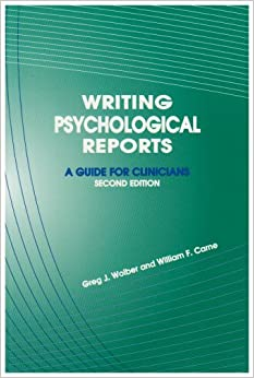 psychology report writing guide A quick guide to writing a psychology lab-report abstract - introduction - method - results - discussion.