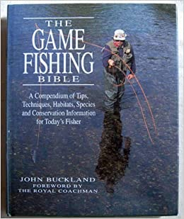The game fishing bible john buckland 9780135216910 for Fishing in the bible