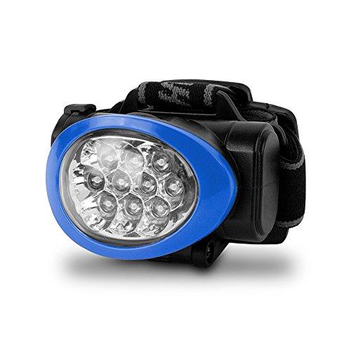 Camelion Ultra Bright 10 Led Headlamp (Black/Blue)