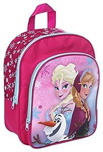 Undercover FTQA7601 - Rucksack mit Vortasche Disney Frozen, circa 30 x 23 x 9 cm