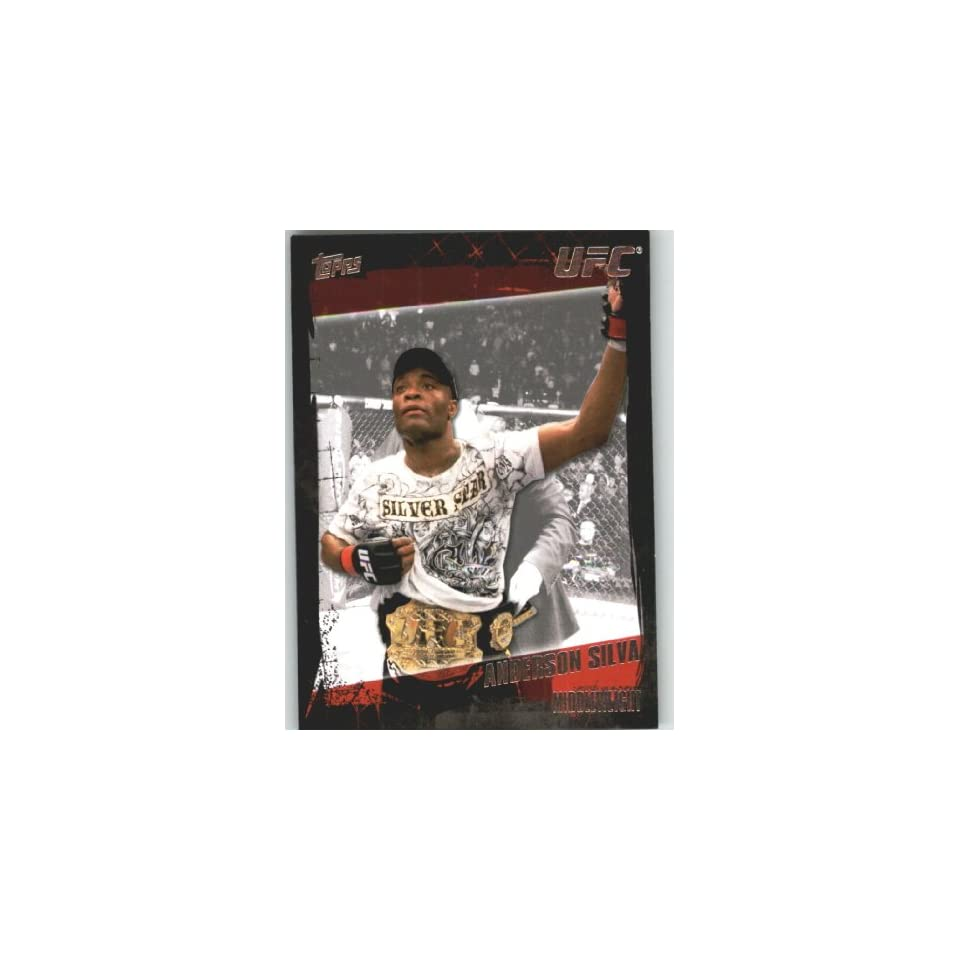 2010 Topps UFC Trading Card # 106 Anderson Silva (Ultimate