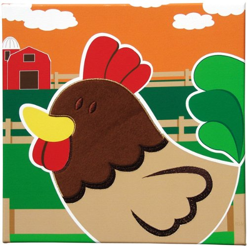 Rooster Wall Art - Animal Farm Collection