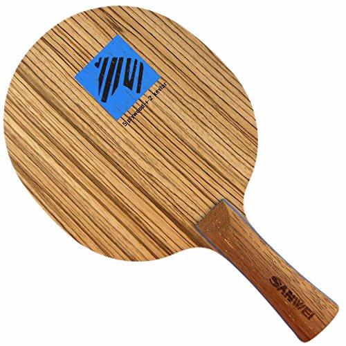 Sanwei BM-7 Table Tennis Blade, Long(Shakehand)-FL