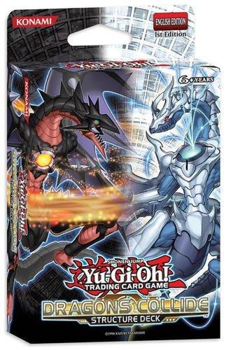 Konami - JCCYGO170 - Jeu de Société - Yu - Gi - Oh JCC - Structure Deck le Choc des Dragons