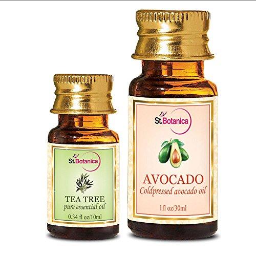StBotanica Tea Tree Essential Oil + Avocado Carrier Oil