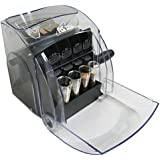 Royal Sovereign Sort 'N Save Manual Coin Sorter, Black/Clear (QS-1)